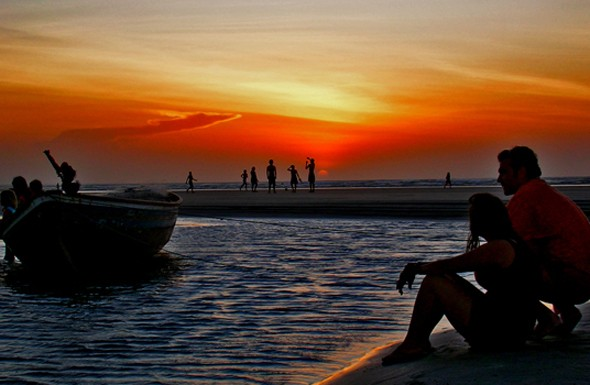 Duna do Por do Sol- Best travel destinations in Brazil