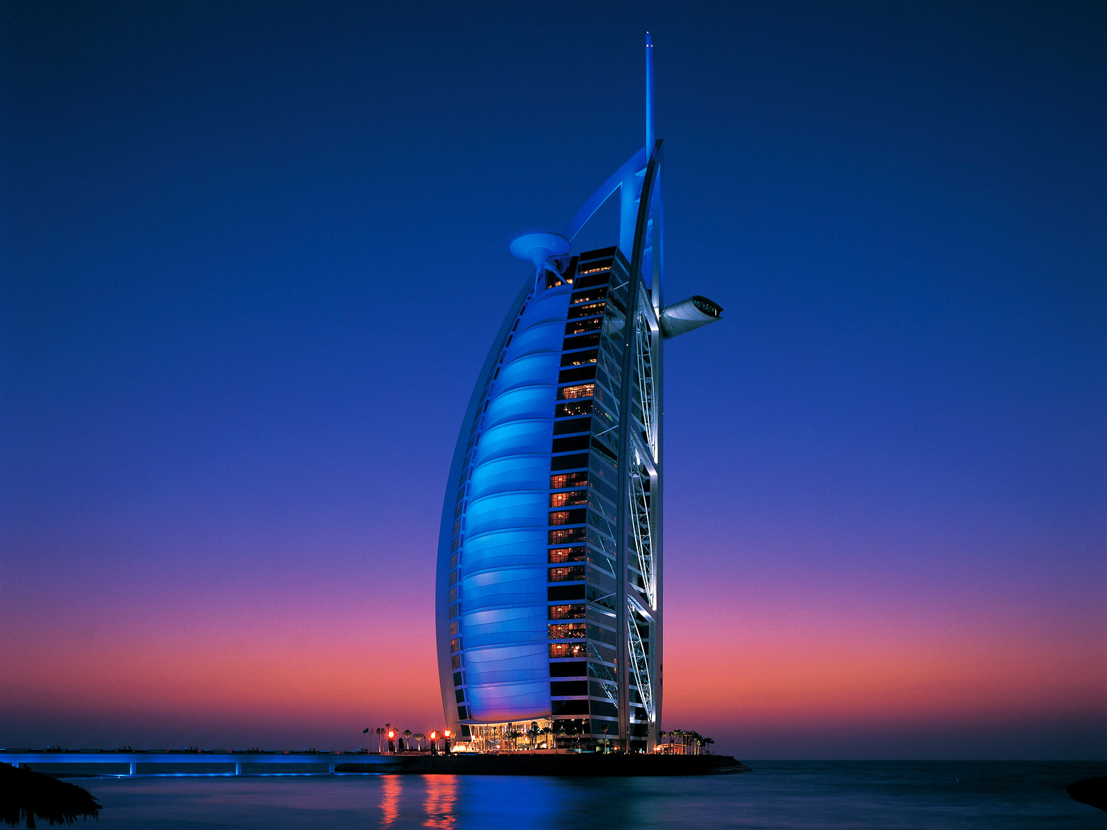 Top 10 beautifully engineered architectural structures for Al arab hotel
