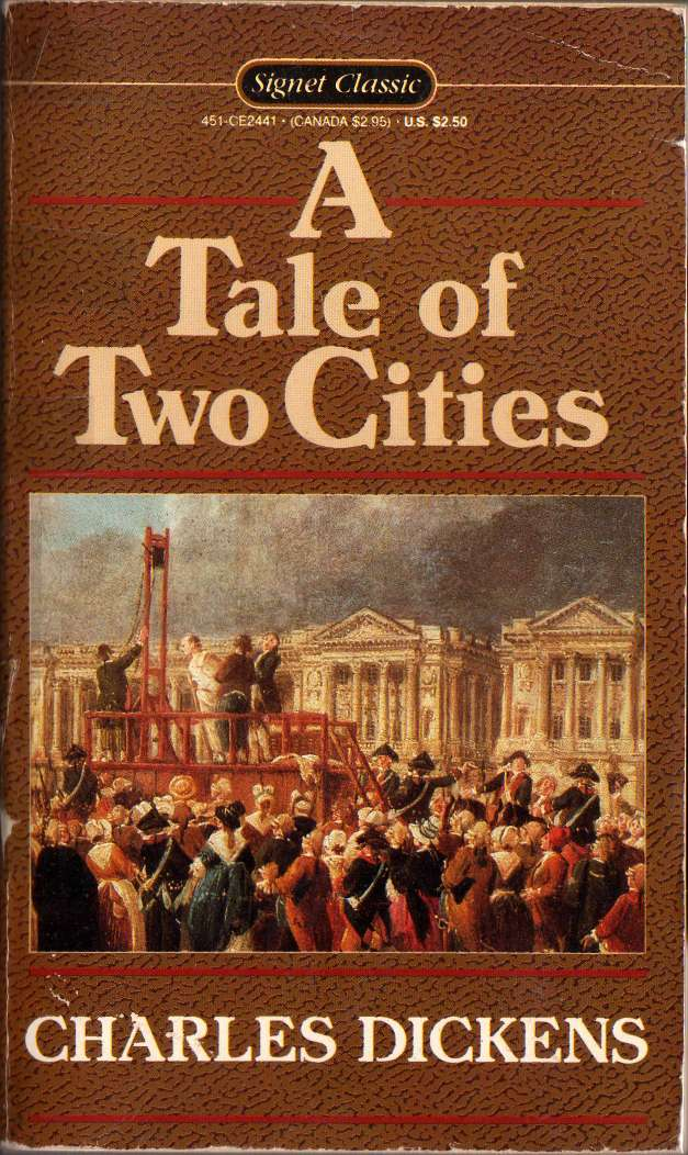 the french revolution as shown in charles dickens a tale of two cities A tale of two cities (1859) is a novel by charles dickens, set in london and paris before and during the french revolution with 200 million copies sold, it.