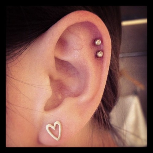Cartilage Piercings on Pinterest | Ear piercings, Piercing ...