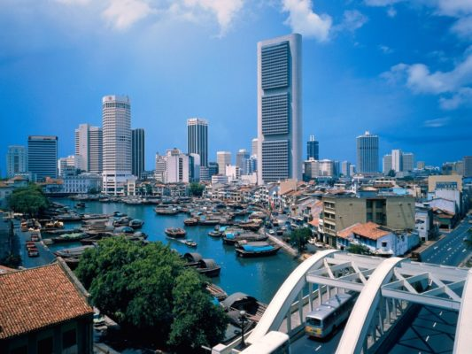 Singapore- best city for abroad studies