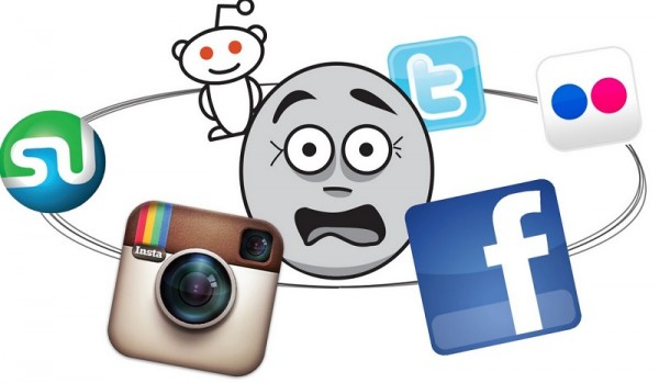too much social networking- most common bad habits
