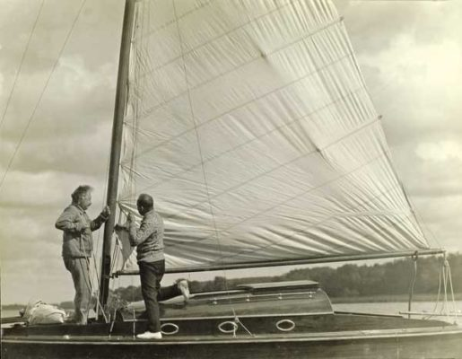 Albert Einstein loved to sail- interesting facts about Einstein