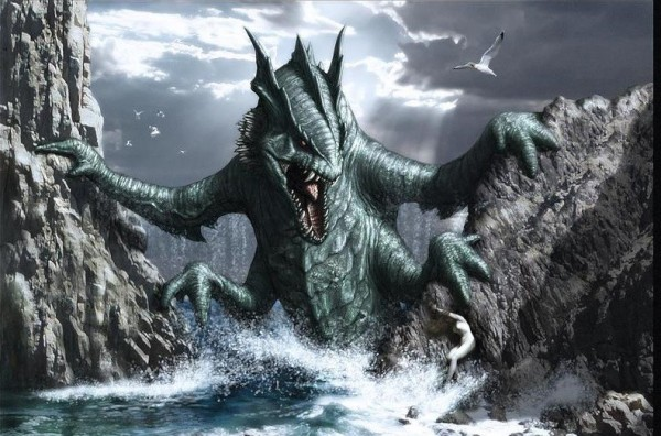 kraken- mythical creature from ancient mythology