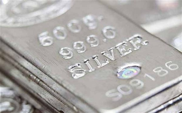 most traded commodities- silver