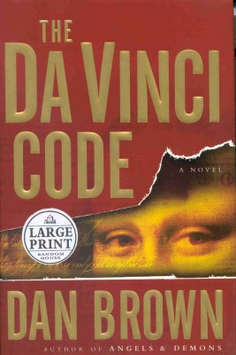 The Da Vinci Code- Dan Brown (2003)- best selling books of all times