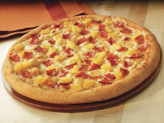 pineapple pizza toppings