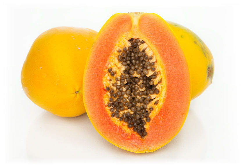 papaya assists in digestion