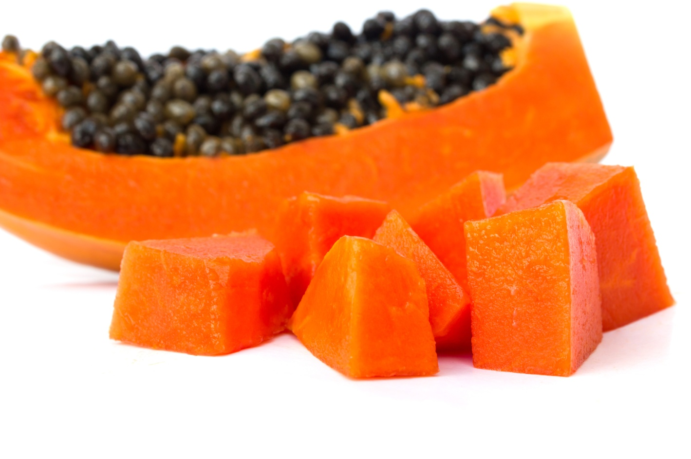 thai fruits, papaya