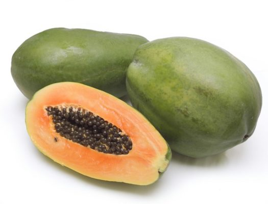papaya protects from intestinal worms