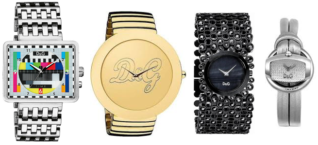 Dolce and Gabbana watches for females