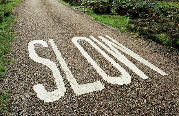 slow down in life