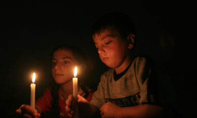 No electricity in Gaza Strip