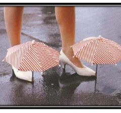 shoe umbrella Worst Inventions of the 21st Century