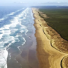 Ninety Mile Beach Aerial View